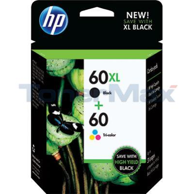 HP 60XL/60 INK BLACK/COLOR COMBO PACK